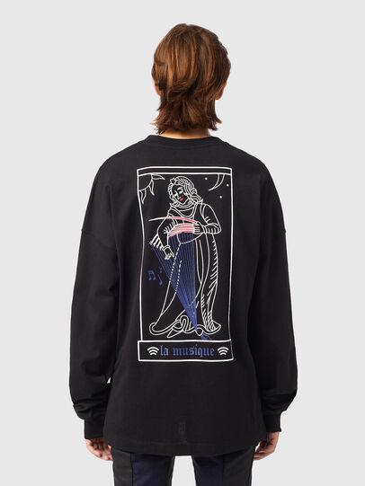Diesel - T-BLONG, Black - T-Shirts - Image 2