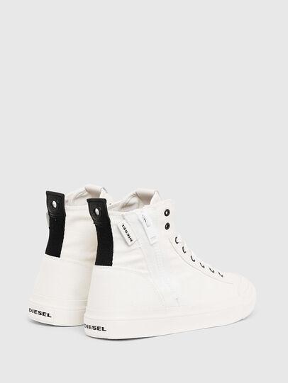 Diesel - S-ASTICO MID ZIP, White - Sneakers - Image 3