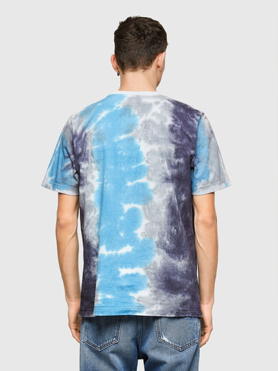 Diesel - T-JUST-E13, Grey/Blue - T-Shirts - Image 2