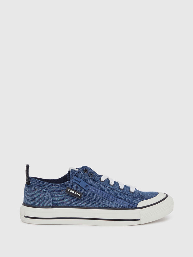 S-ASTICO LOW ZIP W, Blue Jeans - Sneakers