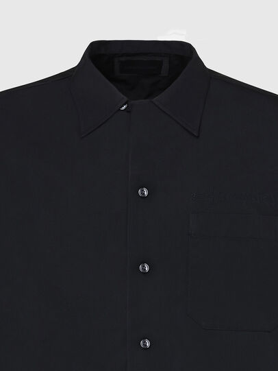 Diesel - S-MOOL-A, Black - Shirts - Image 3