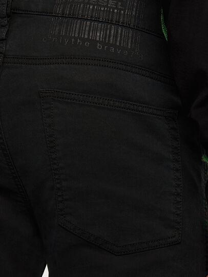 Diesel - D-REEFT JoggJeans® 009HD, Black/Dark grey - Jeans - Image 5