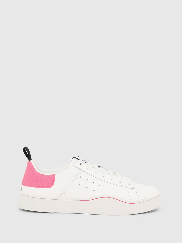 S-CLEVER LOW W, White/Pink - Sneakers