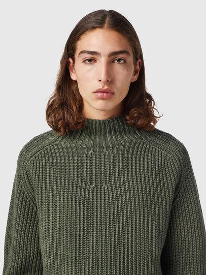 Diesel - K-CLEVELAND, Military Green - Knitwear - Image 3