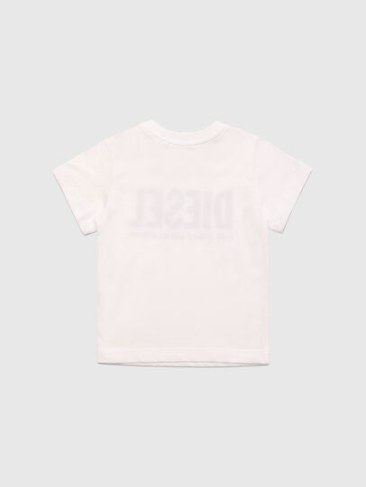 Diesel - TJUSTLOGOB, White - T-shirts and Tops - Image 2