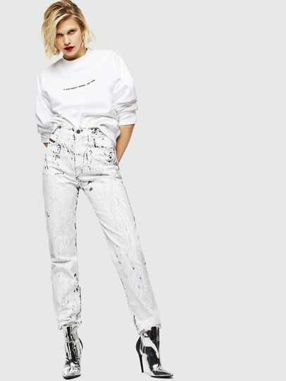 Diesel - F-ANG-COPY, White - Sweaters - Image 5