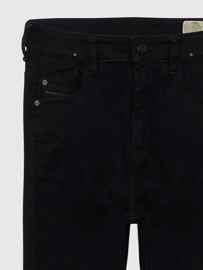 Diesel - Slandy High A69EF, Black/Dark grey - Jeans - Image 3