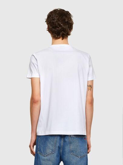 Diesel - T-DIEGOS-E35, White - T-Shirts - Image 2