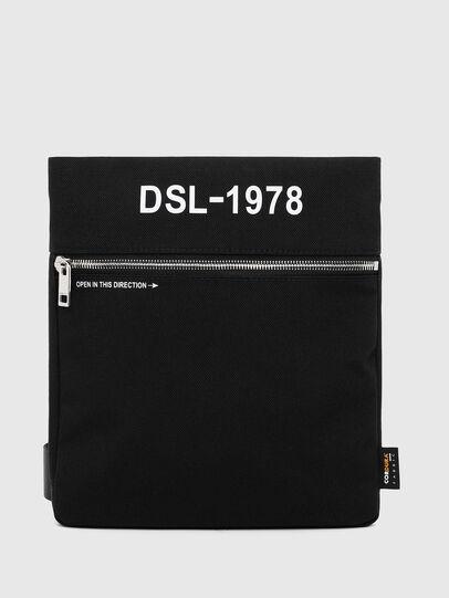 Diesel - F-URBHANITY CROSS ZP, Black - Crossbody Bags - Image 1