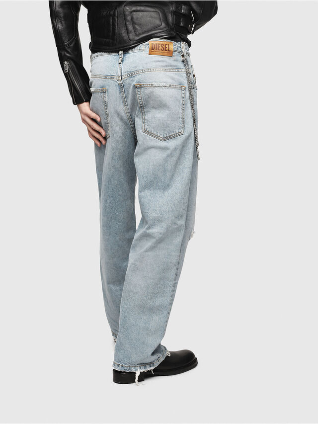 Diesel - D-Vided 080AF, Light Blue - Jeans - Image 2