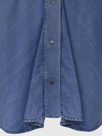 Diesel - DE-NILLA, Light Blue - Denim Shirts - Image 3