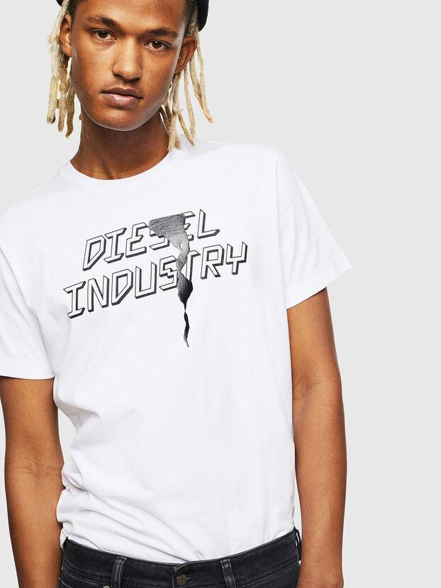T-DIEGO-J25, White - T-Shirts
