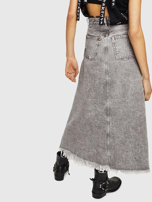 Diesel - DE-MARGY, Light Grey - Skirts - Image 2