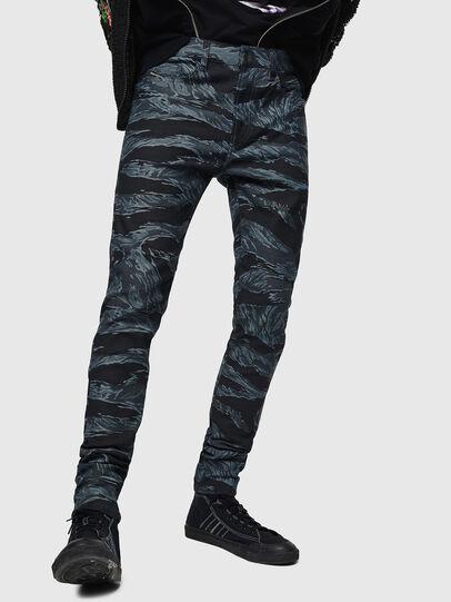 Diesel - D-Amny 0091R, Dark Blue - Jeans - Image 6