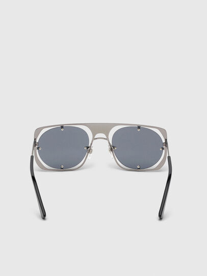 Diesel - DL0305, Gray/Black - Sunglasses - Image 4