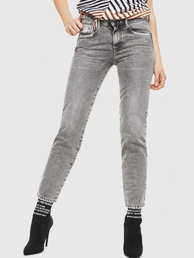 Diesel - D-Rifty 8880X, Light Grey - Jeans - Image 1