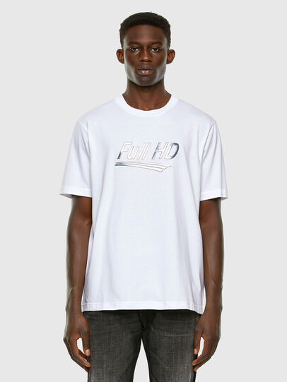 Diesel - T-JUST-SLITS-X83, White - T-Shirts - Image 5