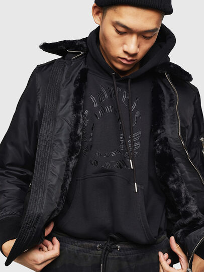 Diesel - W-SLOTKIN-A, Black - Winter Jackets - Image 7