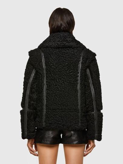 Diesel - L-EYRE, Black - Leather jackets - Image 2