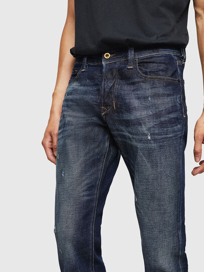 Diesel - Larkee-Beex 087AT, Dark Blue - Jeans - Image 3