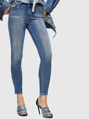 Slandy Zip 083AP, Medium blue - Jeans