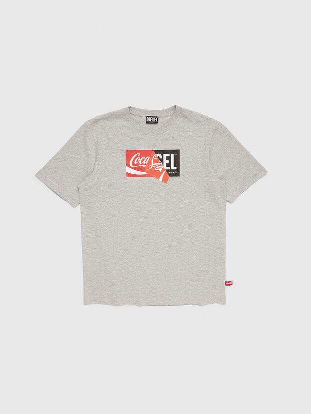 CC-T-JUST-COLA, Grey - T-Shirts