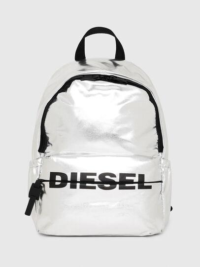 Diesel - F-BOLD BACK II, Silver - Backpacks - Image 1