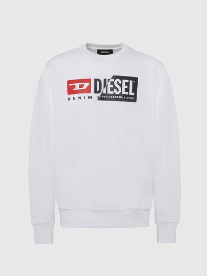 Diesel - S-GIRK-CUTY, White - Sweaters - Image 1