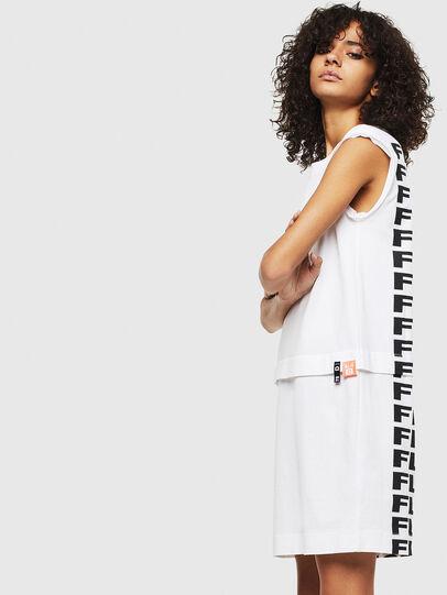 Diesel - D-HATTER, White - Dresses - Image 4