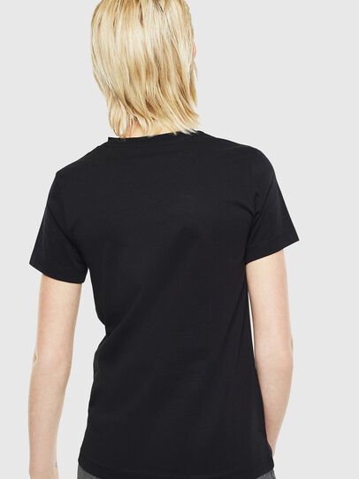 Diesel - T-SILY-YD, Black - T-Shirts - Image 2
