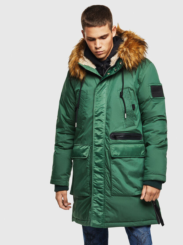 W-BULLISK, Dark Green - Winter Jackets