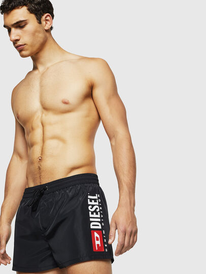 Diesel - BMBX-SANDY 2.017, Black - Swim shorts - Image 4
