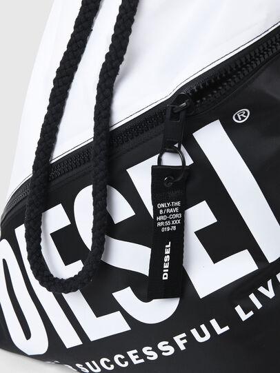 Diesel - BBAG-SACK, White/Black - Beachwear accessories - Image 5