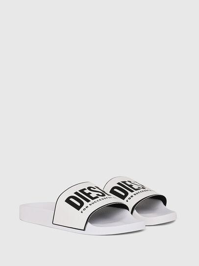 Diesel - SA-VALLA W, White/Black - Slippers - Image 2