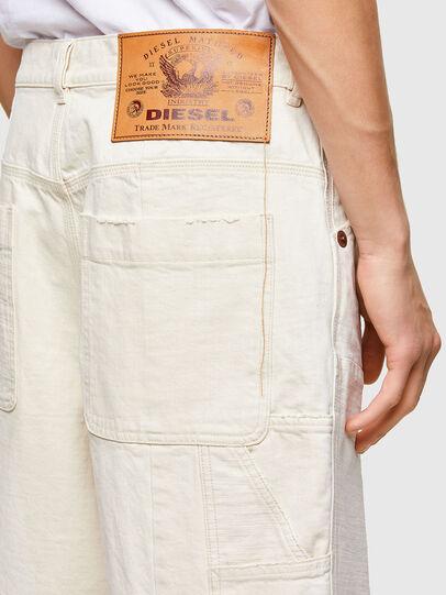 Diesel - D-FRANS-SP1, White - Shorts - Image 4