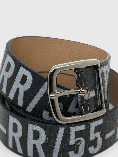 Diesel - B-ARBARANO II, Grey/Black - Belts - Image 2