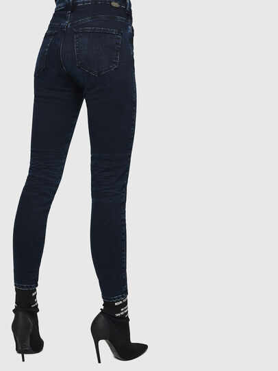 Diesel - Slandy High 082AU, Dark Blue - Jeans - Image 2