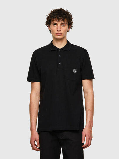 Diesel - T-POLO-WORKY, Black - Polos - Image 1