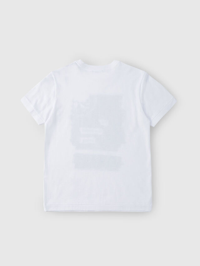 Diesel - TDIEGORH, White - T-shirts and Tops - Image 2