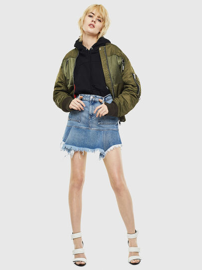 Diesel - DE-BRYX, Light Blue - Skirts - Image 6