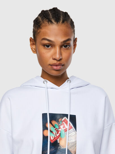 Diesel - F-MAGDALENA-R1, White - Sweaters - Image 3