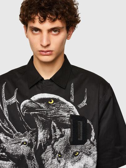 Diesel - S-WOLF, Black - Shirts - Image 3