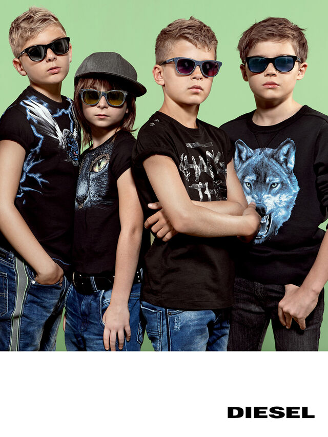 Diesel - DM0200, Black Jeans - Kid Eyewear - Image 5