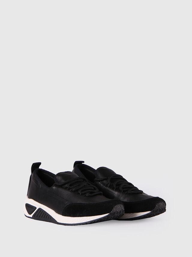 Diesel S-KBY, Black Leather - Sneakers - Image 2