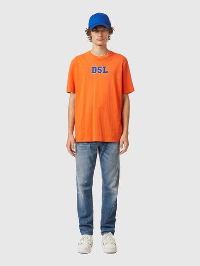Diesel - T-JUST-B85, Orange - T-Shirts - Image 4