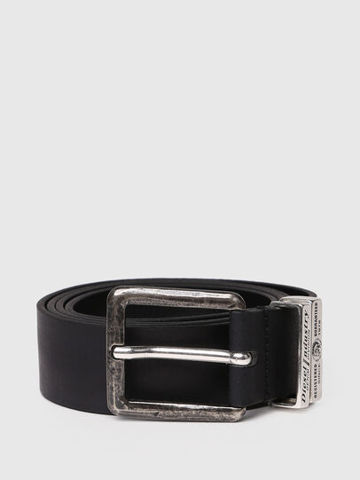 Diesel - B-GUARANTEE, Black - Belts - Image 1