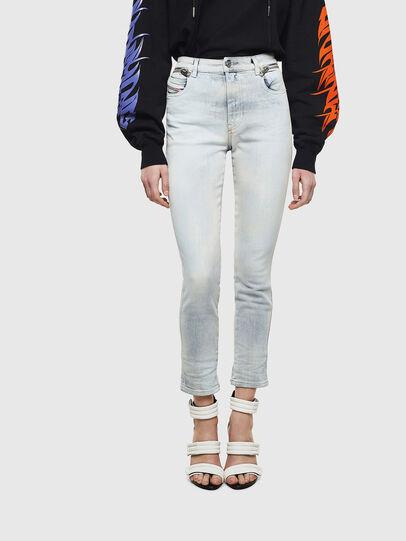 Diesel - Babhila High 009AX, Light Blue - Jeans - Image 1