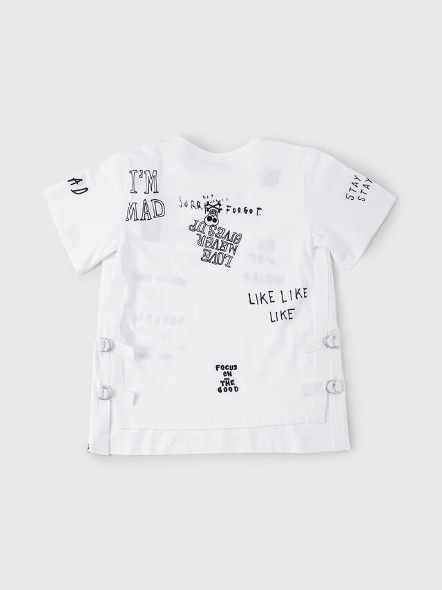 Diesel - THELOS, White - T-shirts and Tops - Image 2