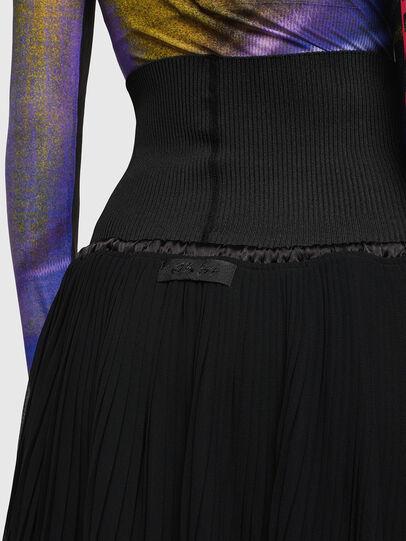Diesel - O-ARIE, Black - Skirts - Image 5