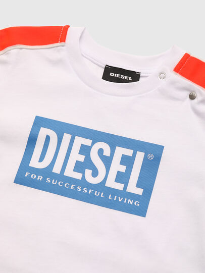 Diesel - TANGEB, White - T-shirts and Tops - Image 3